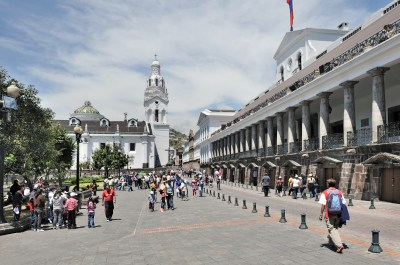 Quito Plaza Independencia Pal Carondelet