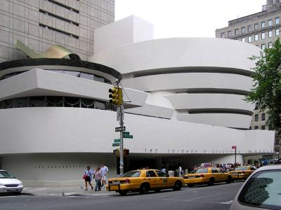 Solomon R. Guggenheim Museum in New York - streetview